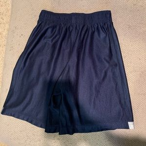 Nike navy & gray shorts